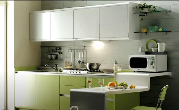 วิธีออกแบบห้องครัวเล็กๆให้เป็นระเบียบ