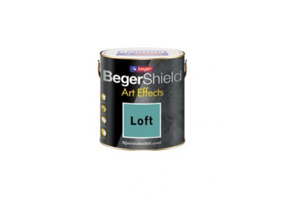 Beger Shield Art Effects Loft สีปูนฉาบสไตล์ลอฟท์แบบพร้อมใช้งาน
